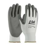 Sz L G-Tek PolyKor Seamless Knit Gloves Model 16-D622