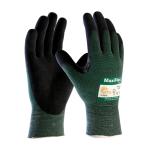 Sz L MAXIFLEX CUT Seamless Knit Glove Model 34-8743