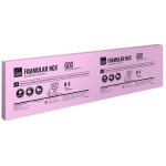 1 in. x 2 ft x 8 ft FOAMULAR NGX 600 High-Performance XPS Insulation