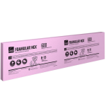 1.5 in x 2 ft x 8 ft FOAMULAR NGX 600 High-Performance XPS Insulation